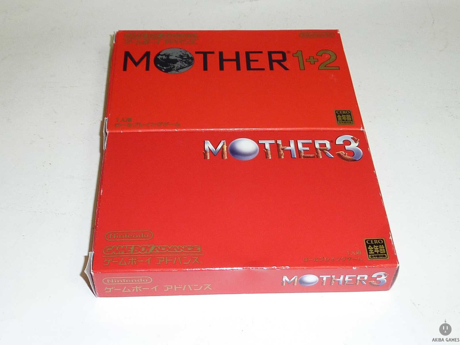 [GBA] [Mother(1&2)+3] Games Set