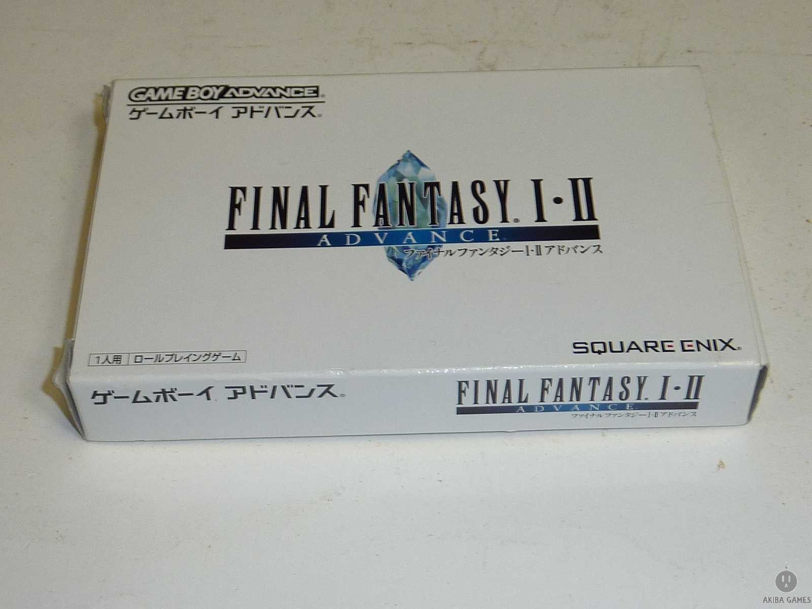 [GBA] Final Fantasy I 1 II 2 Advance