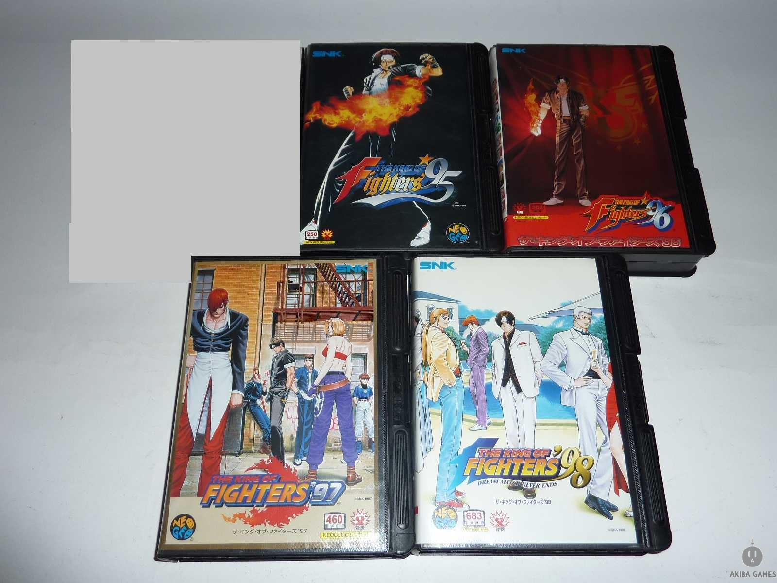 [NG] The King of Fighters '95 ~ '98 Set of 4