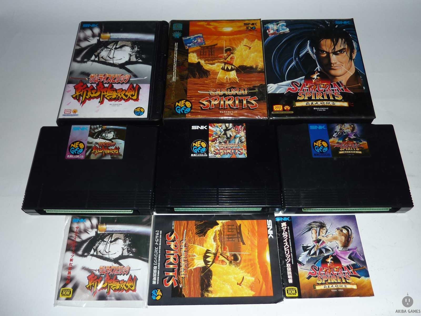 [NG] Samurai Spirits Shodown Series Zankurou Musouken Set of 3