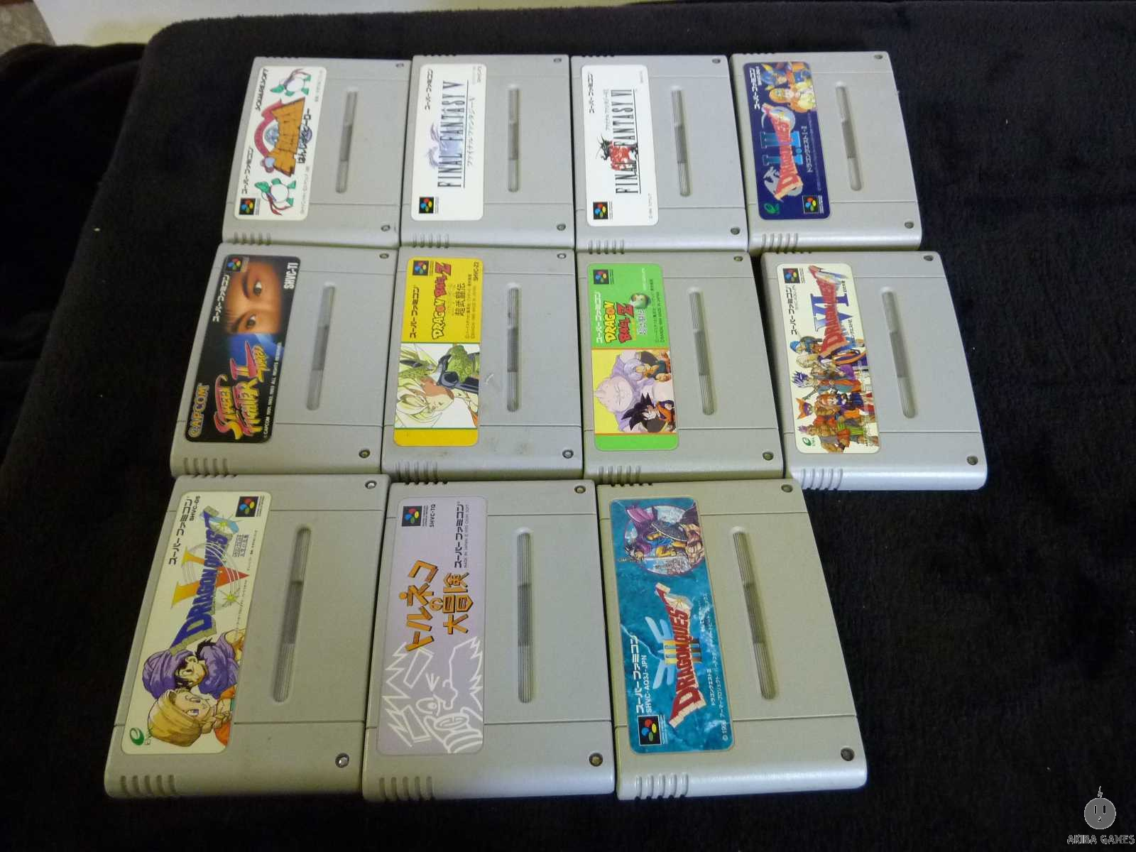 [SFC] Dragon Quest I II, Toruneko, FinalFantasy etc 11games