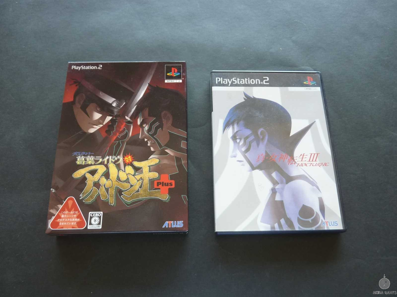 [PS2] Devil Summoner 2 : Raidou Kuzunoha vs. King Abaddon set of 2 games