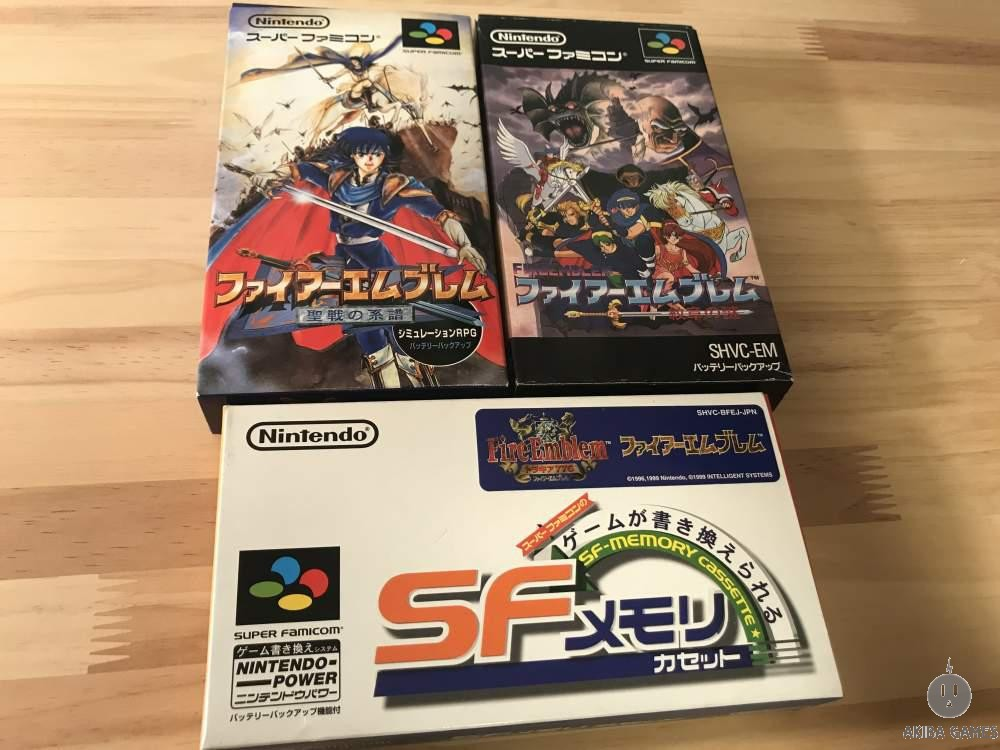 [SFC] Fireemblem Thracia 776 + Genealogy of the Holy War+ Monsho+ Official books