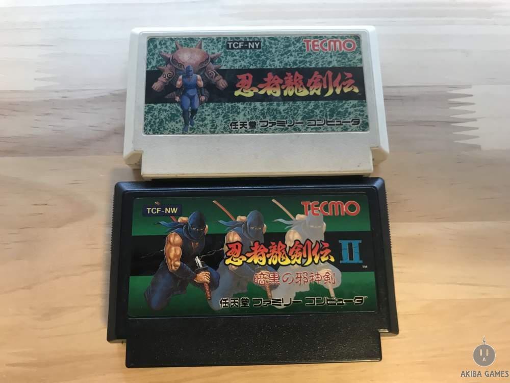 [FC] Ninja Gaiden - Ninja Ryukenden 1+2