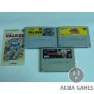[SFC] Assault Suits Valken (NO BOX)...etc 3 Games (loose) Set