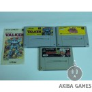 [SFC] Assault Suits Valken (NO BOX)...etc 3 Games (loose) Set