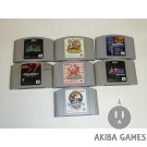 [N64] The Legend Of Zelda Majora's Mask...etc 7 Loose Games Set