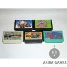 [FC] Ninja Gaiden - Ninja Ryukenden...etc 5 Games Set (loose)