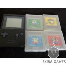 [GB] Gameboy MGB-001+PocketMonsters 4 games Picachu Yellow, Red, Blue and Green
