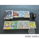 [GB] Console Game Boy  Color Clear CGB-001 System+ adapter+ 8Games Set