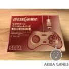 [SS] Controller Sega Saturn White HSS-0101