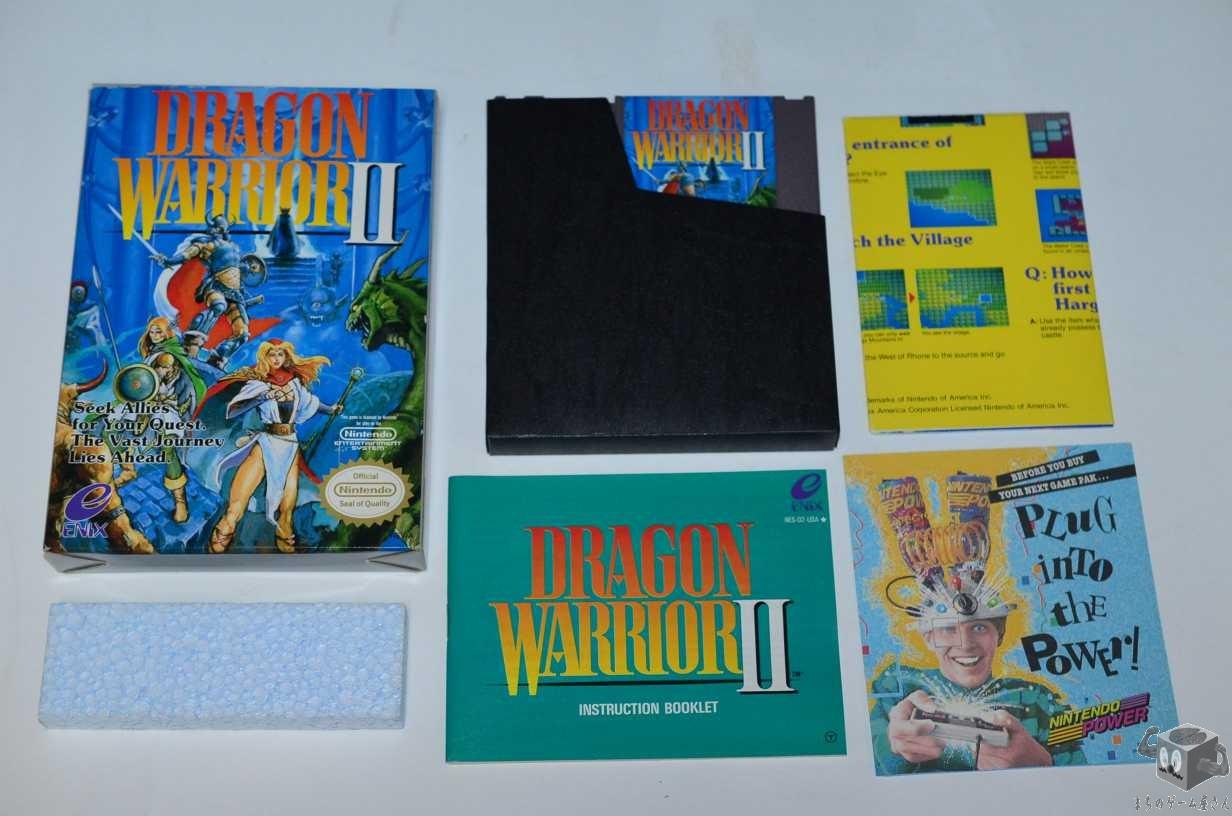 [NES] Dragon Warrior II Official Nintendo US Version