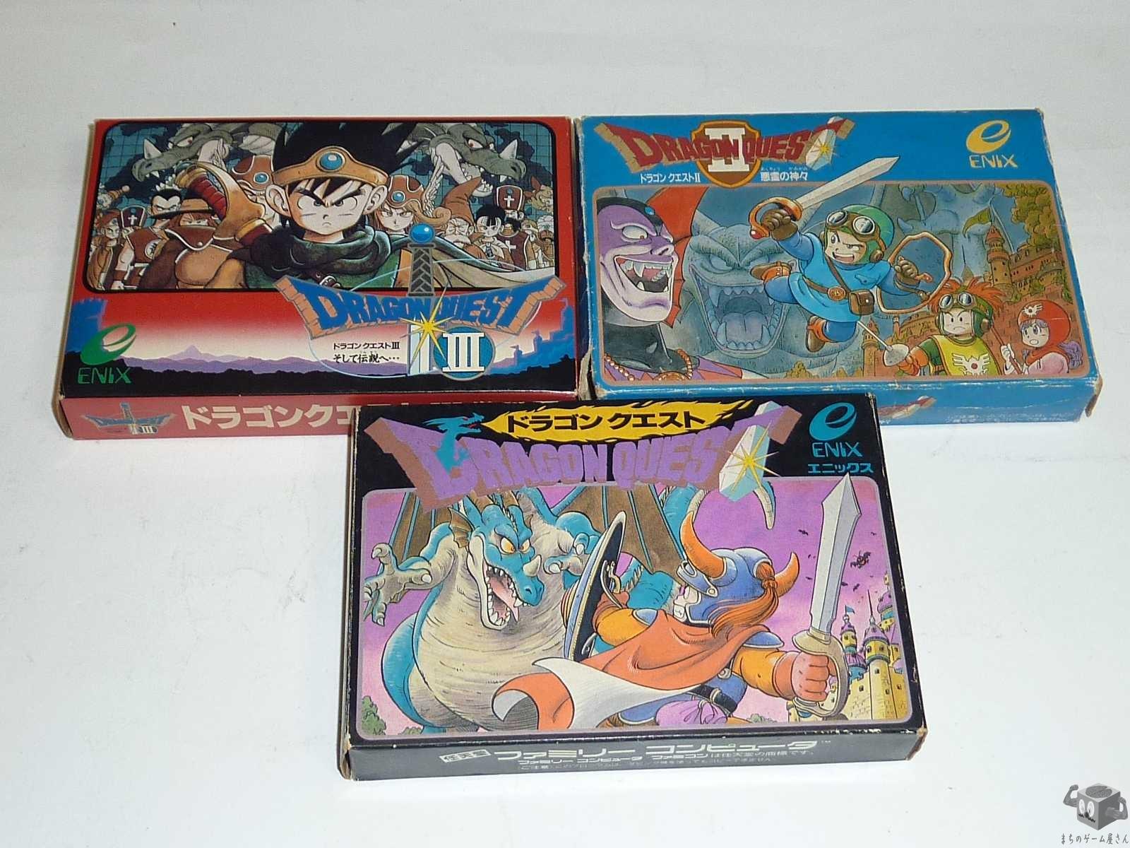 [FC] Dragon Quest1+2+3 Set