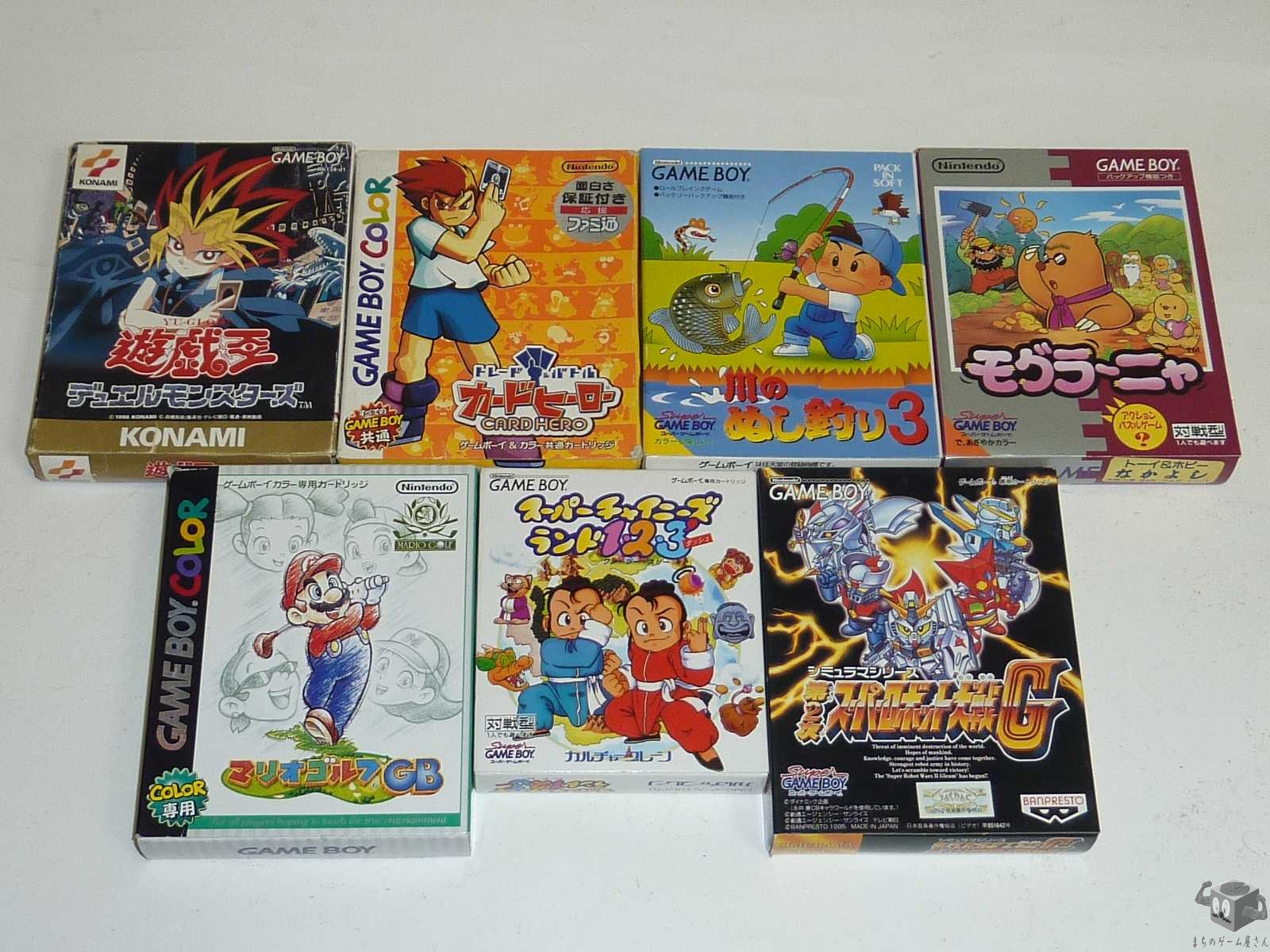 [GB] Super Chinese Land 1, 2, 3'...etc 7 Games Set