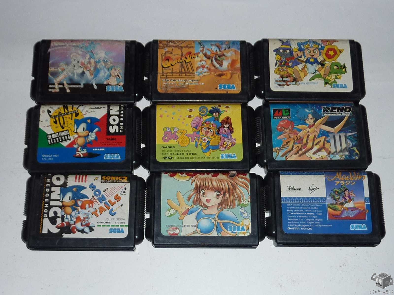 [MD] Shining Force...etc 9 Games Set Loose