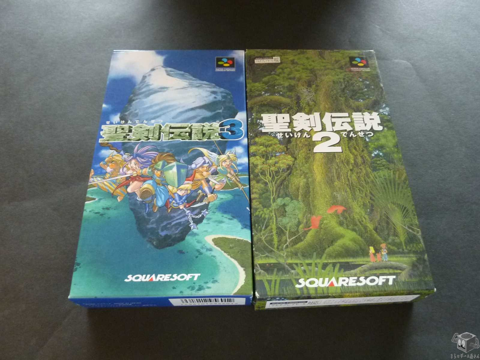 Very Good Condition  [SFC] Seiken Densetsu 2,3 - Secret Of Mana 2