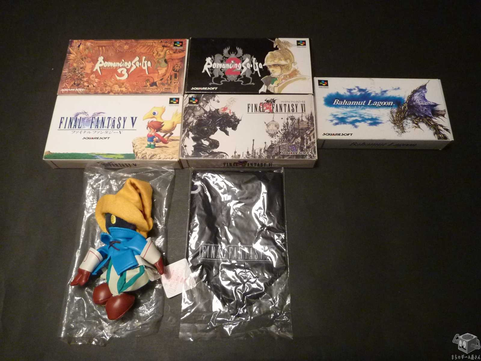 [SFC] Final Fantasy V FF5,Final Fantasy VI FF6 etc 7 set