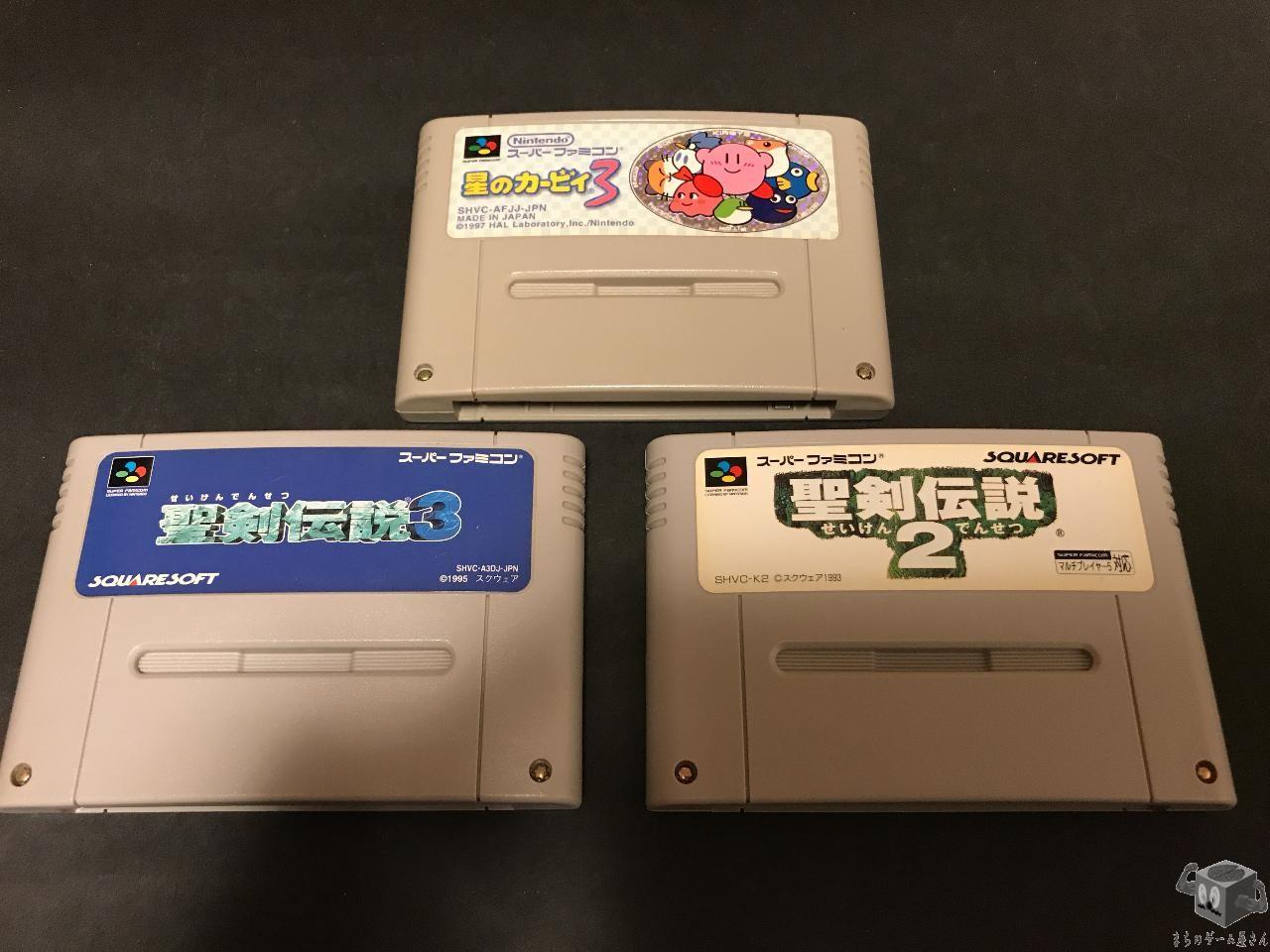 [SFC] Seiken Densetsu 2 & 3 /Secret of Mana , Kirby's Dream Land 3