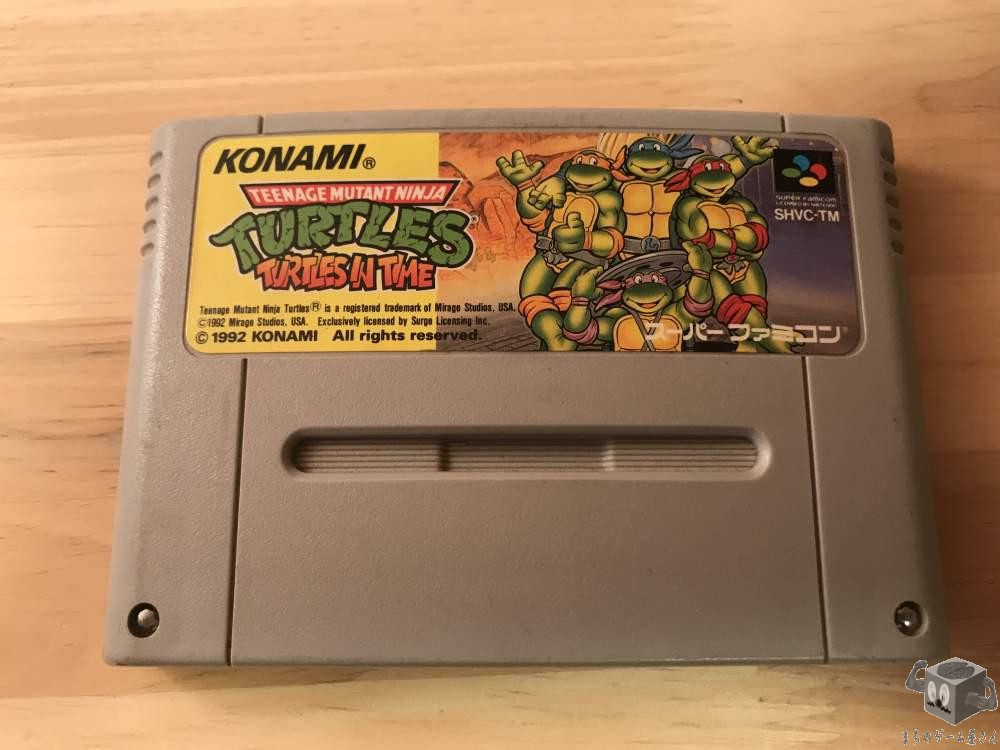 [SFC] Teenage Mutant Ninja Turtles TMNT : Turtles In Time