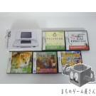 [DS] Console Nintendo DS Platinum Silver NTR-001 System + 5 Games Set