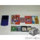 [GB] Console Nintendo Game Boy Color Purple CGB-001 System + 5 Games Set