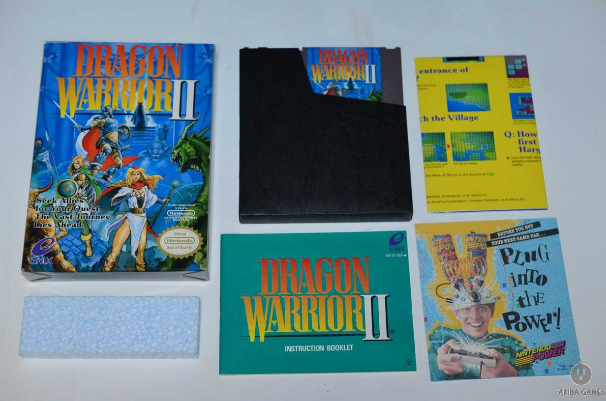 [NES] Dragon Warrior II Official Nintendo US Version