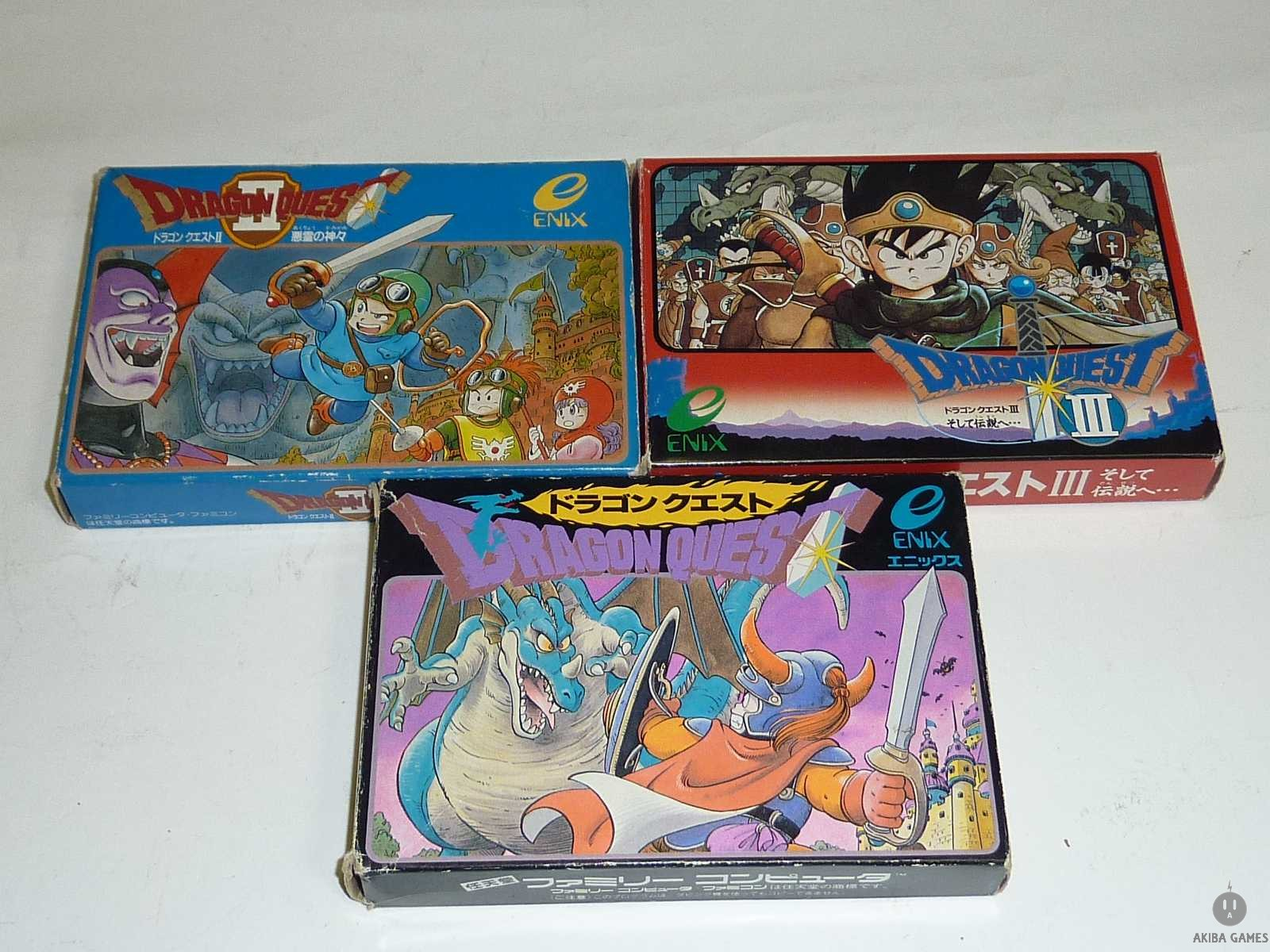 [FC] Dragon Quest1+2+3 Set