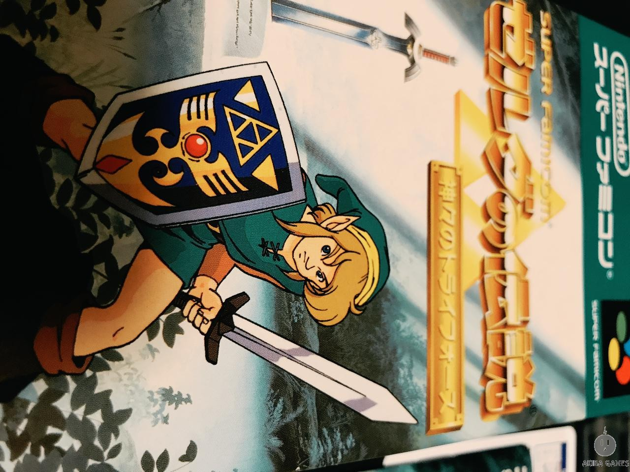 [SFC] The Legend Of Zelda 3 : A Link To The Past