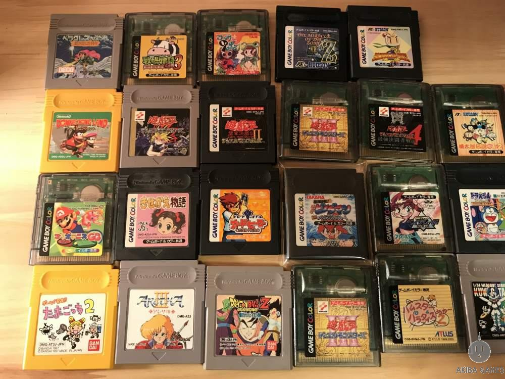 [GB] gameboy 35 games set Castlevania, Mario, Medarot and etc