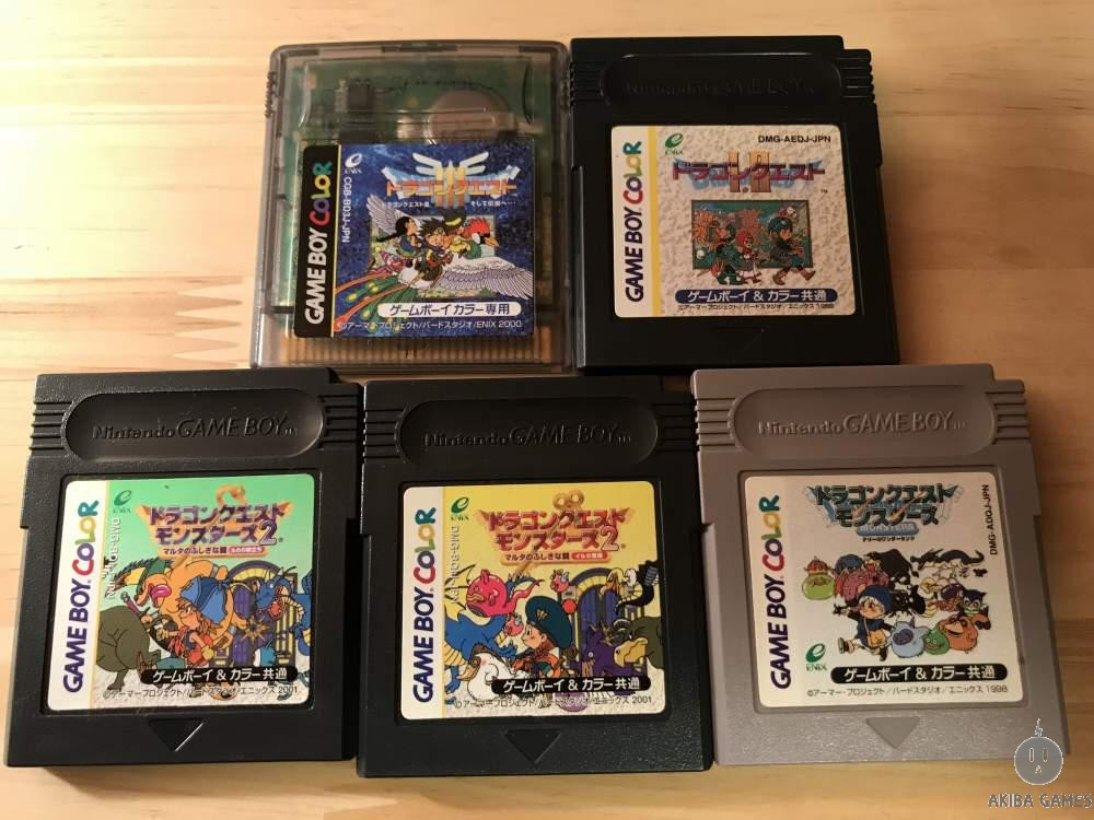[GB] Dragon Quest 1+2+3+Monsters1+2+2 6 game set / III : And Thus Into Legend