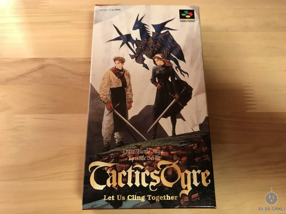 [SFC] Tactics Ogre : Let Us Cling Together Ogre Battle Saga Episode 7 MINT