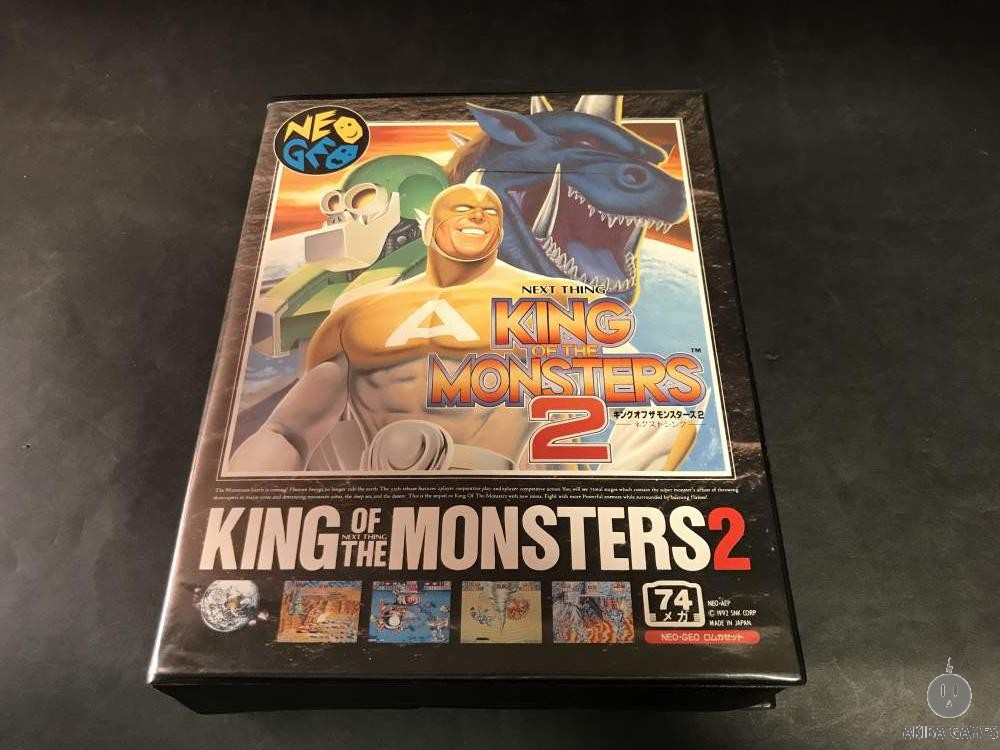 [NG] King of the Monsters 2 : Next Thing - Neo Geo AES