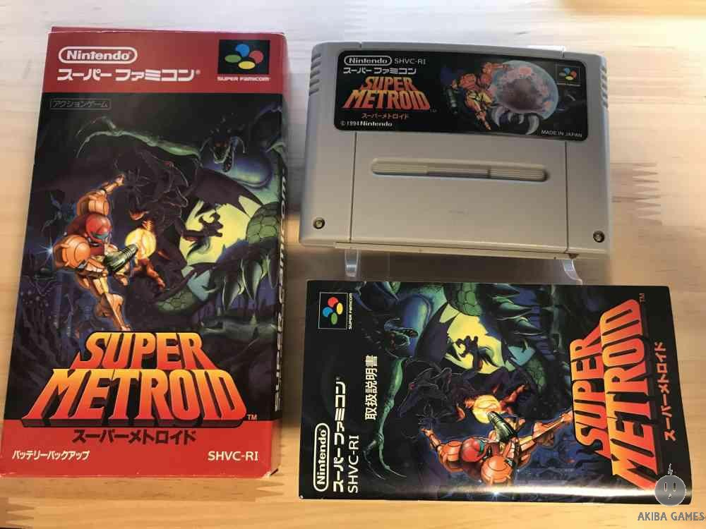 [SFC] Super Metroid