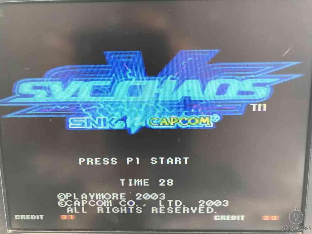 SNK VS. CAPCOM SVC CHAOS (Arcade Game)