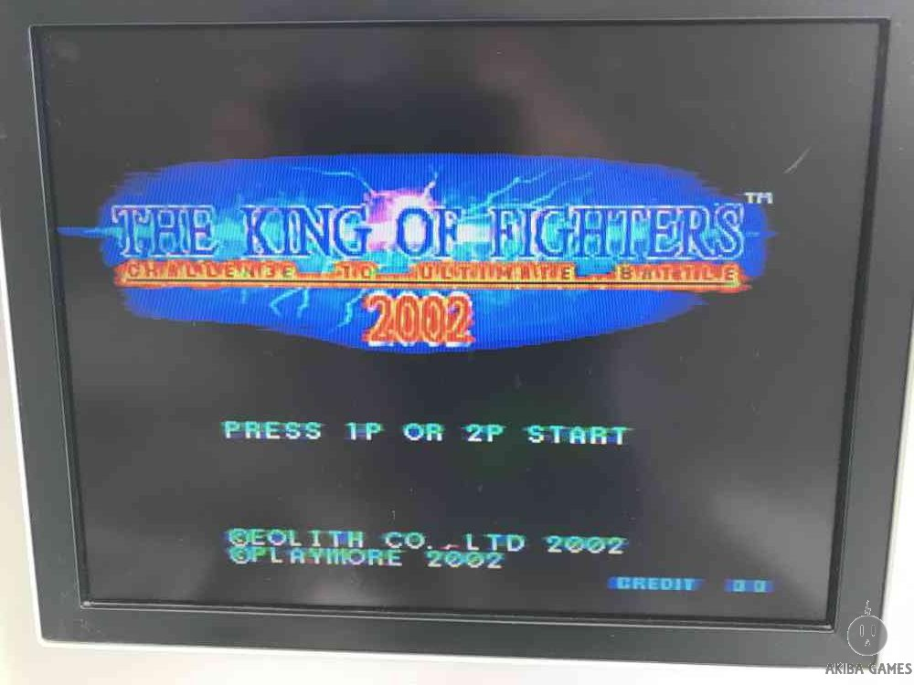 The King of Fighters 2002 KOF - Neo Geo MVS (Arcade Game)