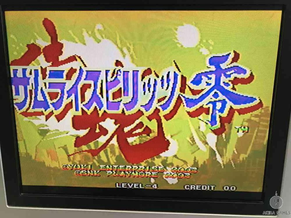 Samurai spirits zero Neo Geo MVS (Arcade Game)