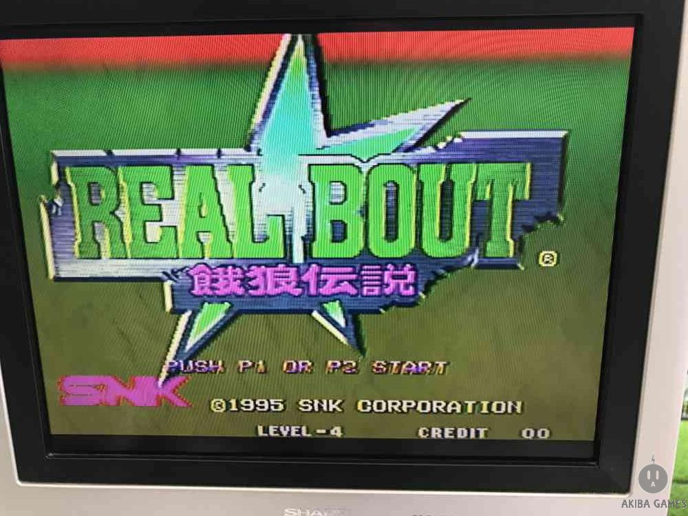 Real Bout Garou Densetsu Neo Geo MVS (Arcade Game)