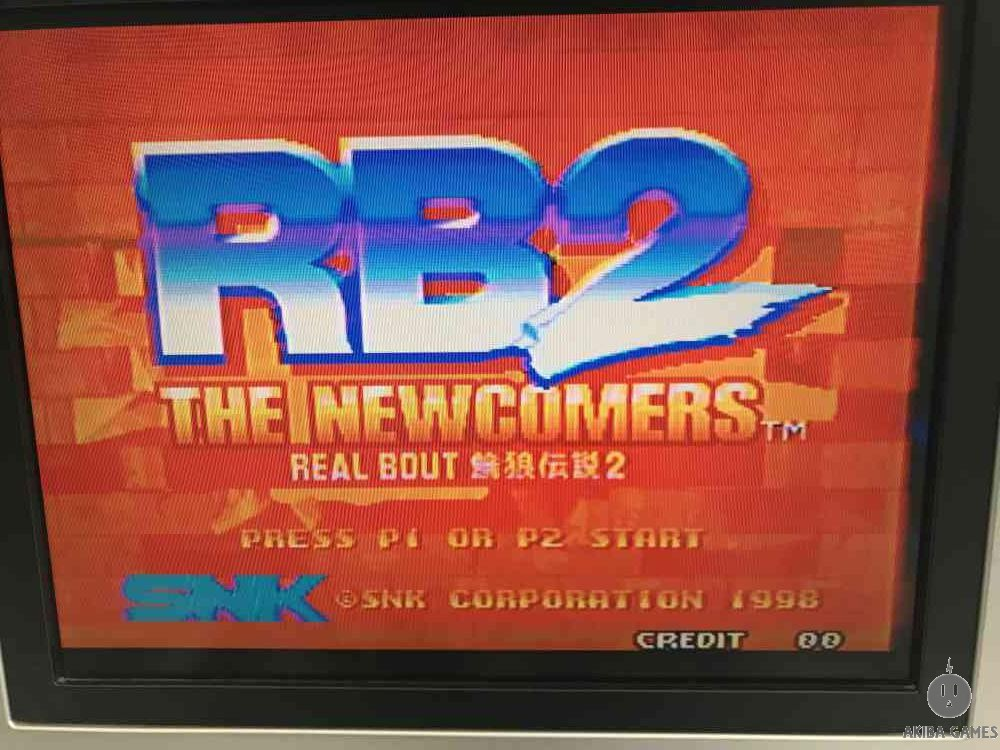 Rb(real bout)2 the new comers Neo Geo MVS (Arcade Game)