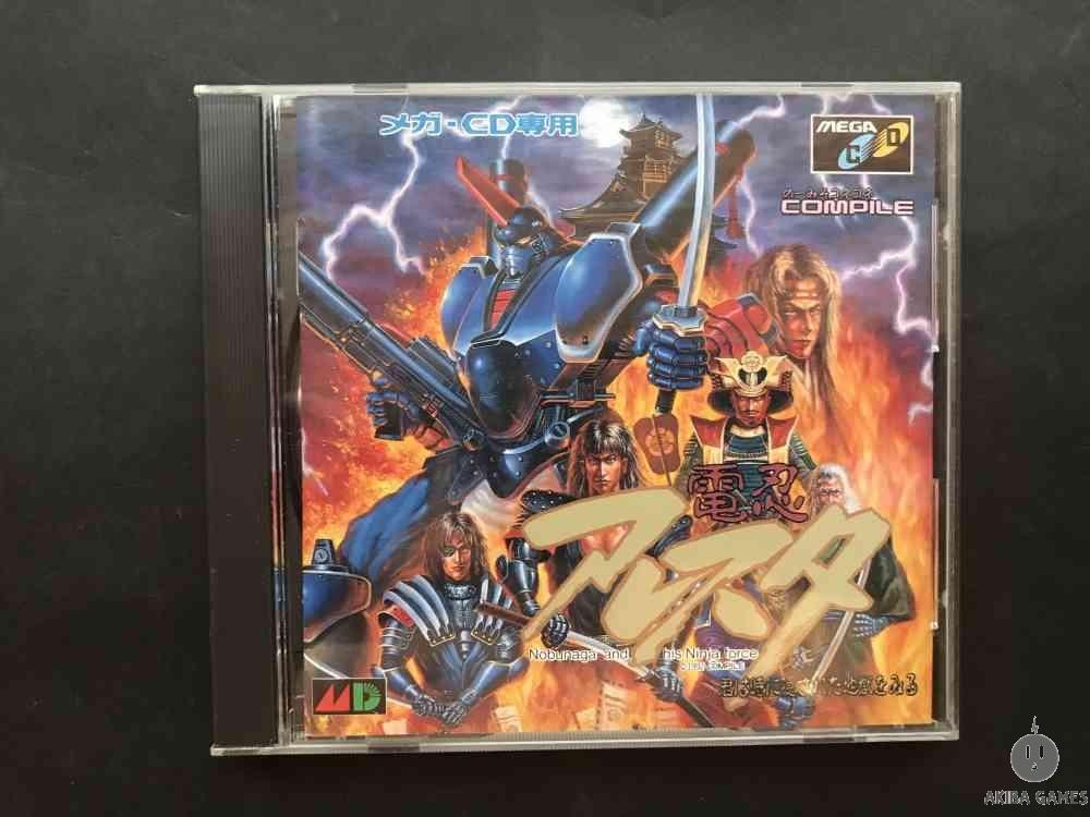 [MEGA-CD] Dennin Aresuta Nobunaga and his Ninja Force : Kimi ha Toki ni Kakusare