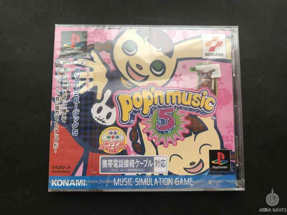 [PS] Pop'n music 5