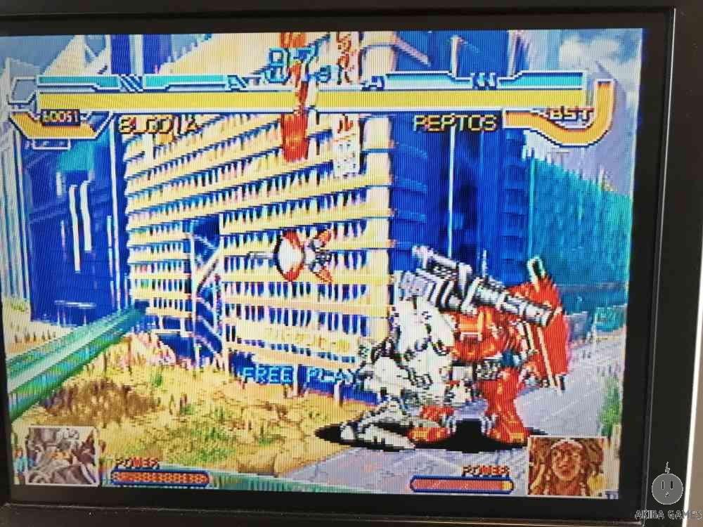 CYBERBOTS FULLMETAL MADNESS (Arcade Game)