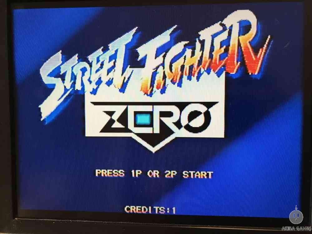 Street Fighter Zero (Arcade Game)
