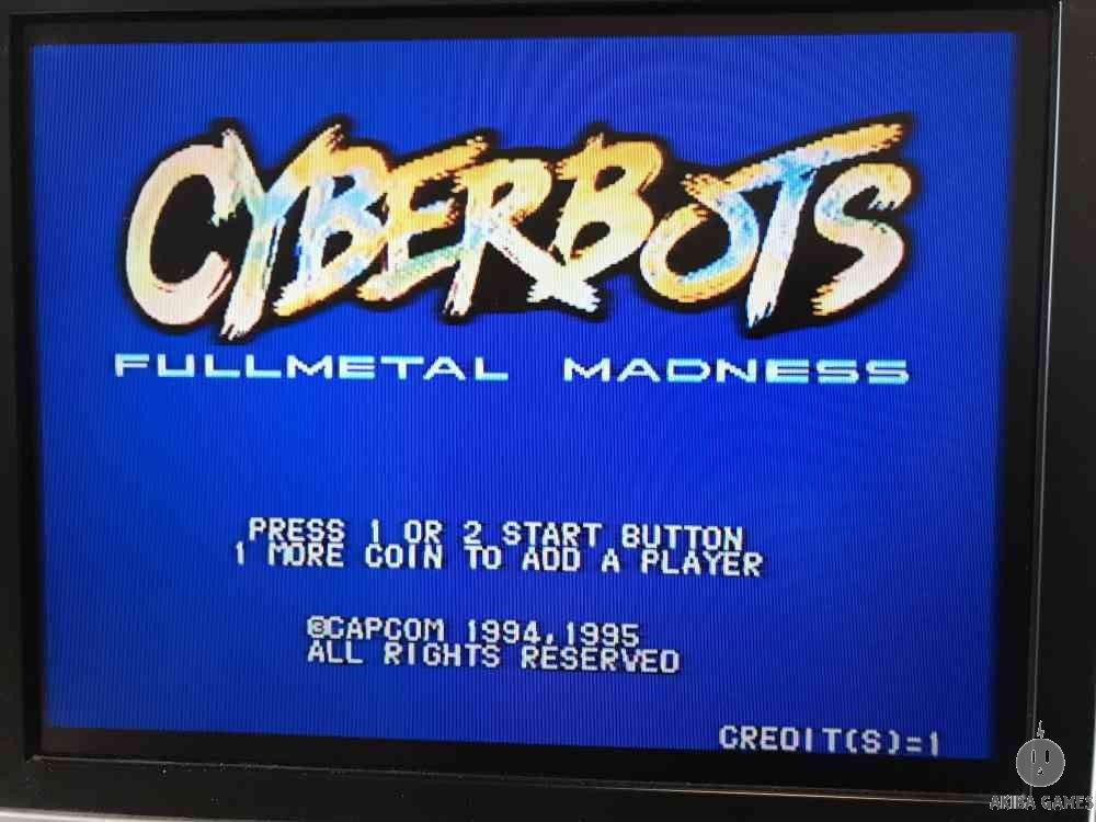 CYBERBOTS FULLMETAL MADNESS (Arcade Game)