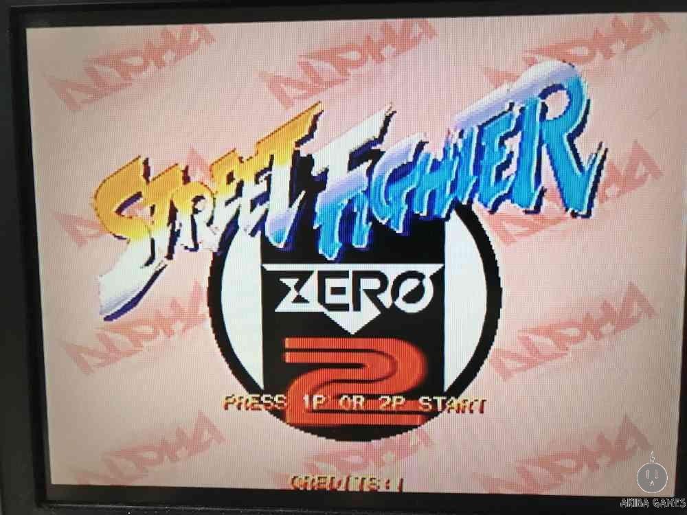 Street Fighter Zero 2 alpha (Arcade Game)