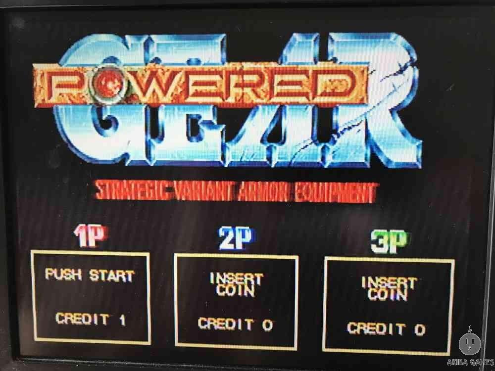 Powered GEAR (Arcade Game)