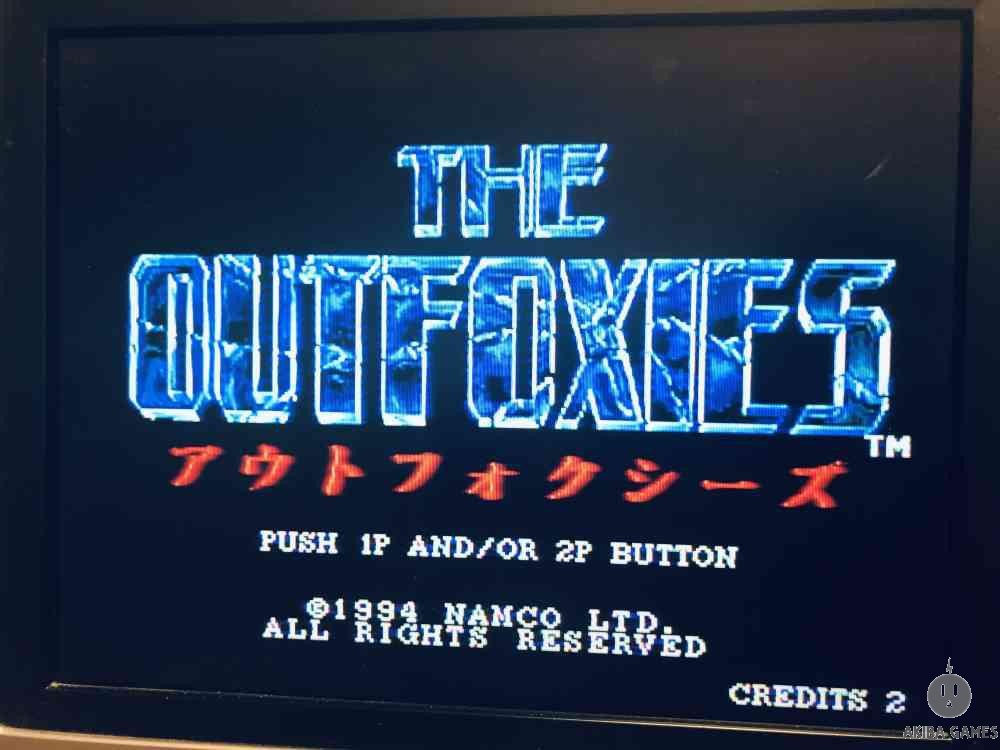 THE OUT FOXIES (Arcade Game)