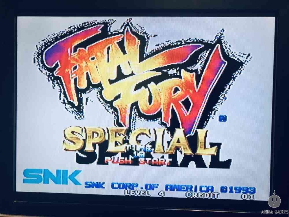 Fatal Fury Special - Garou Densetsu - Neo Geo MVS (Arcade Game)