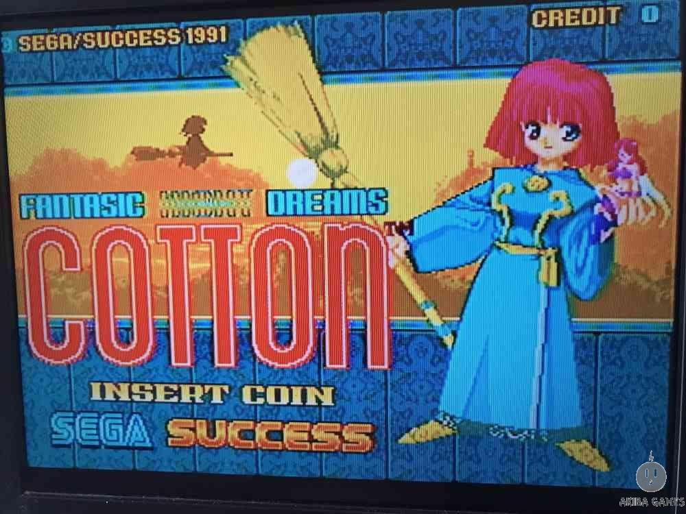 Cotton - Fantastic Night Dreams (Arcade Game)