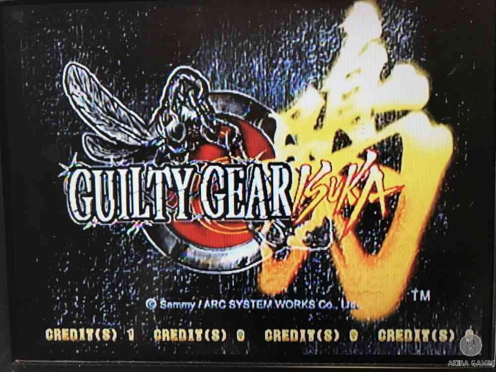 GUILTY GEAR ISUKA (Arcade Game)