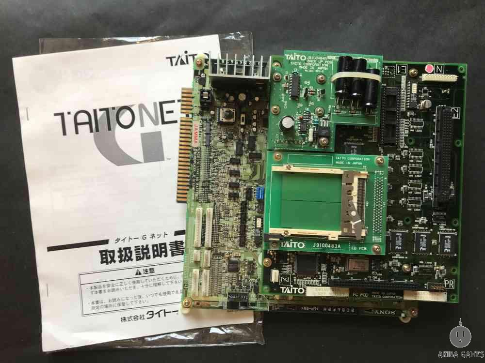 TAITO G-NET Mother board + 1game (Arcade Game)